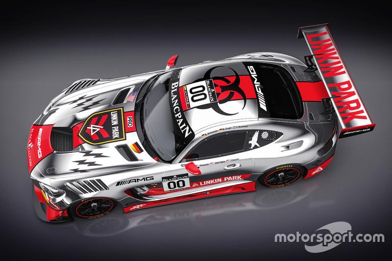 #00 AMG-Team Black Falcon, Mercedes AMG-GT3 für 24h Spa