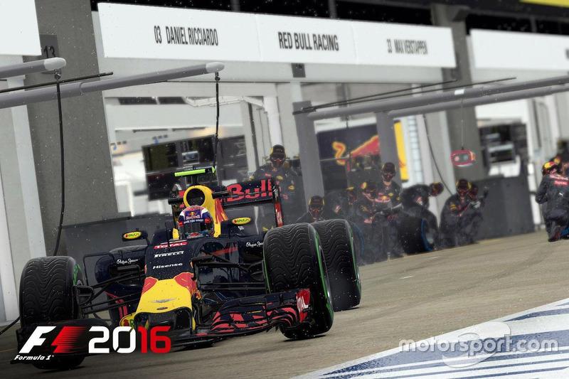 Screenshot von F1 2016