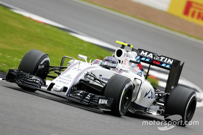 6. Valtteri Bottas, Williams FW38