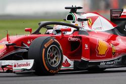Sebastian Vettel, Ferrari SF16-H, mit dem Cockpitschutz Halo 2