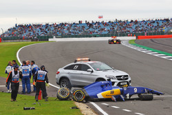 Marcus Ericsson, Sauber C35 crash