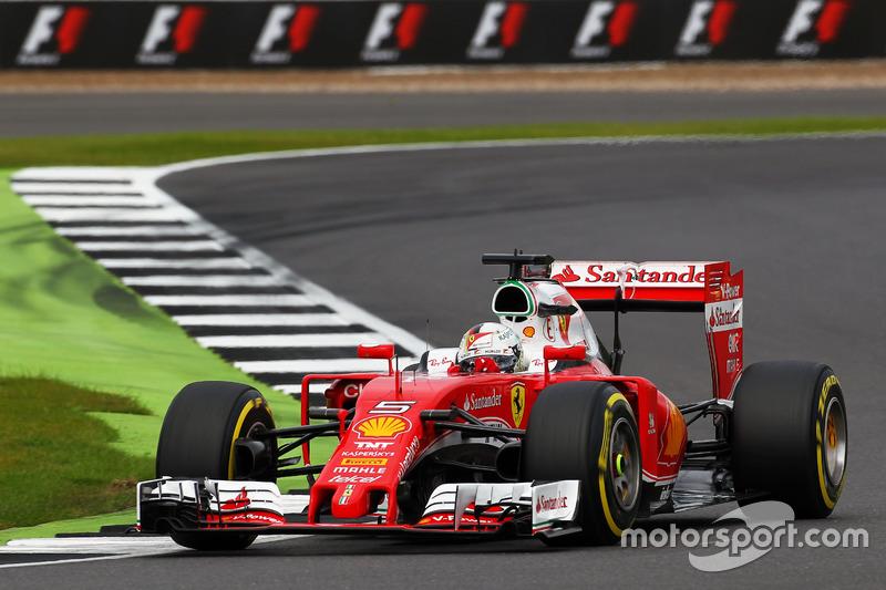 11. Sebastian Vettel, Ferrari SF16-H