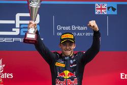 Podium: winner Pierre Gasly, Prema Racing