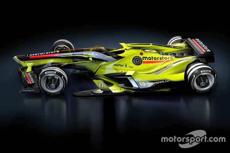 Diseño del futuro de la F1