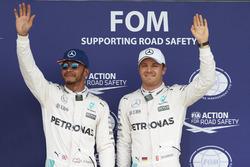 Льюис Хэмилтон, Mercedes AMG F1 и Нико Росберг, Mercedes AMG F1