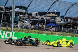 Джозеф Ньюгарден, Ed Carpenter Racing Chevrolet и Симон Пажено, Team Penske Chevrolet