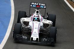 Alex Lynn, Williams FW38 Geliştirme Pilotu