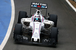 Alex Lynn, Williams FW38 Development Driver