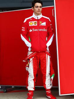 Charles Leclerc, Ferrari Piloto de pruebas