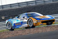 #12 TP12 Racing Team Ferrari 458 Italia GT3: Todd Piti, Carlo van Dam
