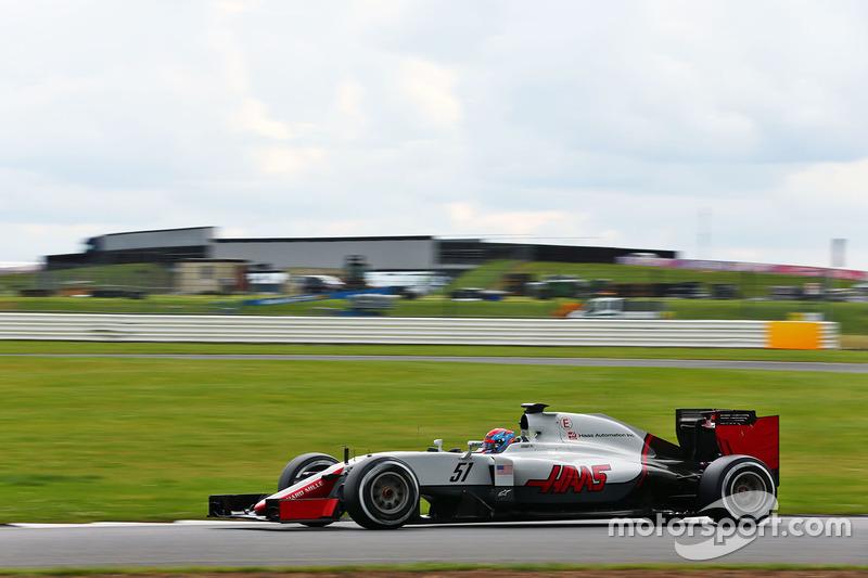 Santino Ferrucci, Haas F1 Team VF-16 Piloto de desarrollo
