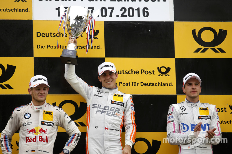 1. Robert Wickens, 2. Marco Wittmann, 3. Christian Vietoris