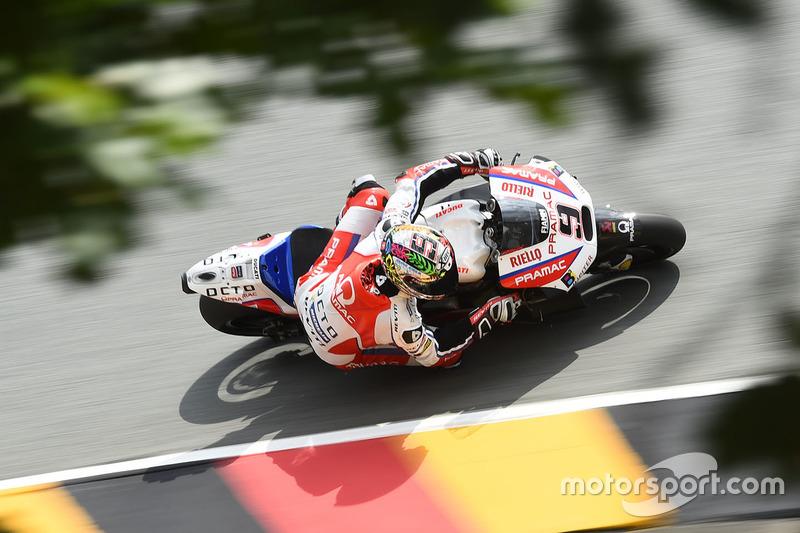 13. Даніло Петруччі, Ducati. 14-те місце у турнірній таблиці, 75 очок