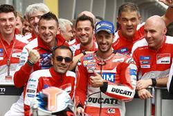 Terzo, Andrea Dovizioso, Ducati Team