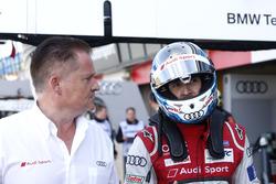Rene Rast, Audi Sport Team Rosberg, Audi RS 5 DTM with engineer