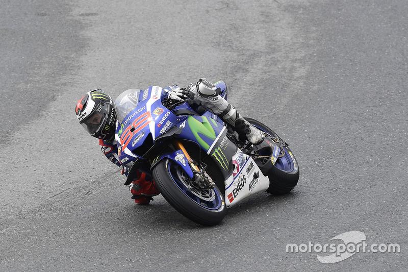 Jorge Lorenzo – Yamaha – Platz 15