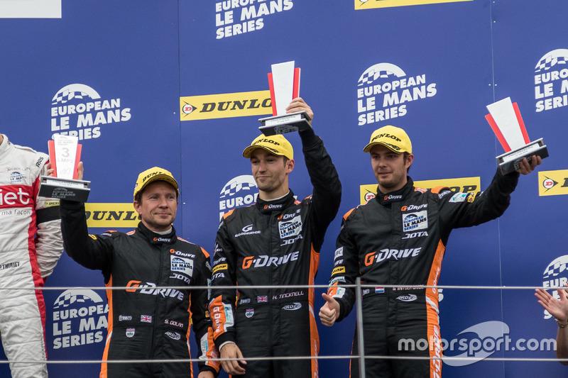 ELMS: Simon Dolan, Harry Tincknell, Giedo van der Garde, G-Drive Racing