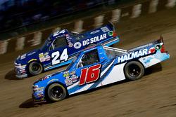 Stewart Friesen, Chevrolet; Kyle Larson, GMS Racing, Chevrolet