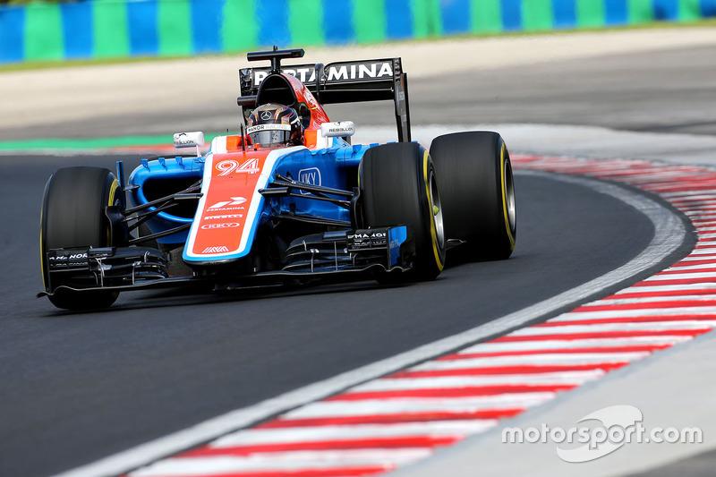 21. Pascal Wehrlein, Manor Racing MRT05