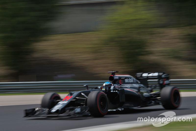 7: Fernando Alonso, McLaren MP4-31