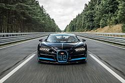 Montoya quebra recorde em Bugatti