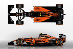 Fantasy forceindia livery
