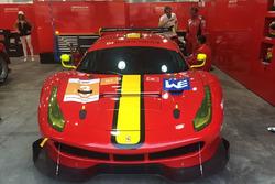 El Ferrari 488 de Alex Riberas en las ALMS