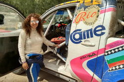 Alicia Reina en el Dakar 2016