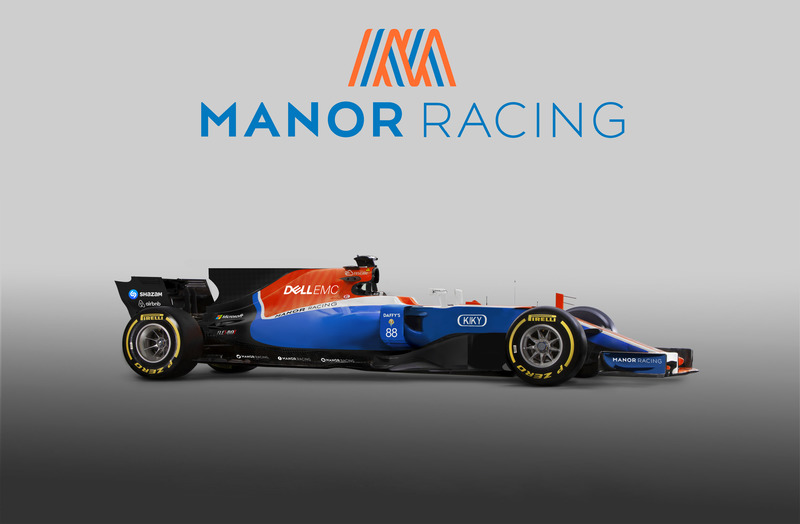 Manor F1 2017 Render at Manor F1 2017 concept