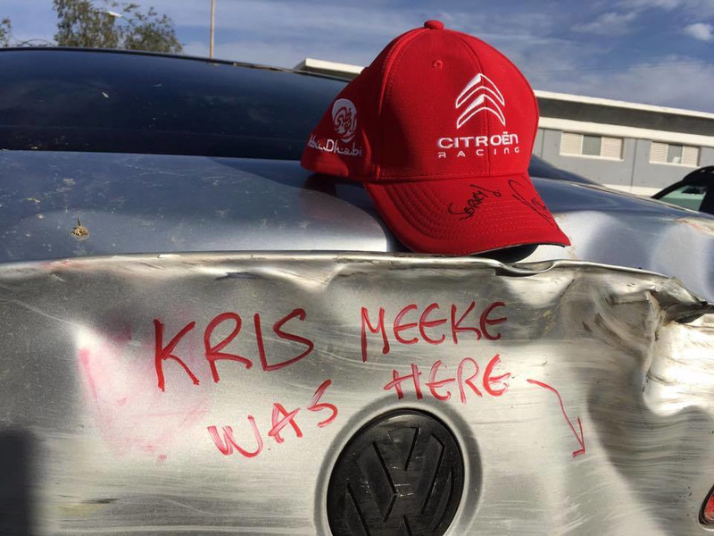Kris Meeke Rally México choque