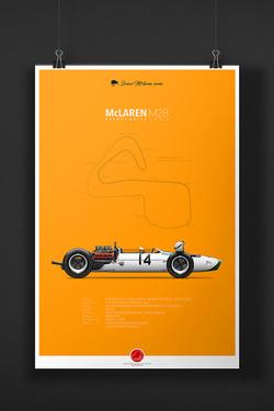 McLAREN M2B Bruce McLaren