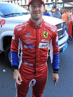 Sam Bird Ferrari AF Corse n71 24 Heures du Mans 2017