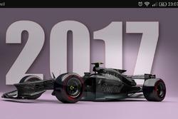 Diseños F1 2025 de Antonio Paglia