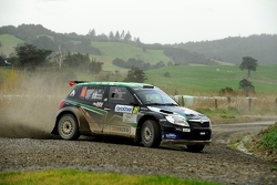 Paddon and Geoff Ridder, Hayden Paddon Rallysport