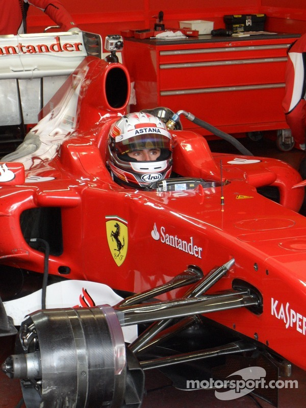 Vallelunga Ferrari drive academy test 2012