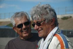 Racers Drive's Bill Alfaro and Mike Cesario share a post race laugh