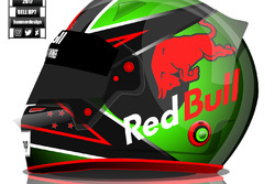 Brendon Hartley helmet concept