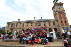 Whincup with team on podium