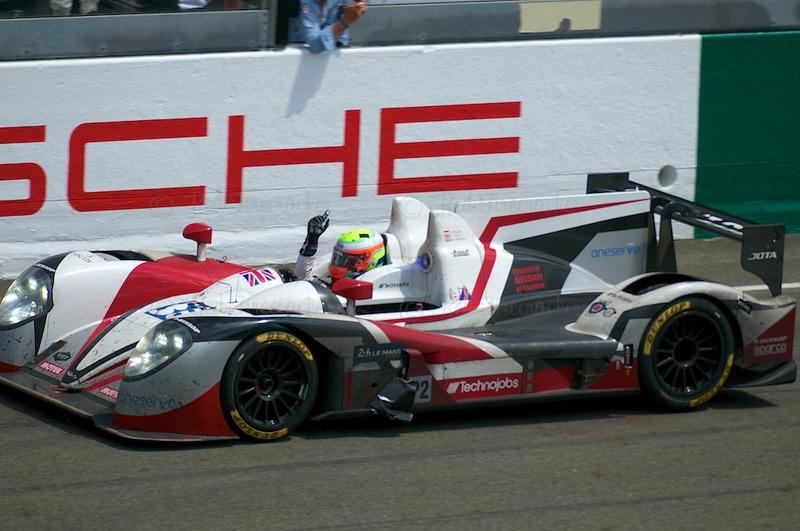 No 38 Jota Sport Zytek Z11SN - Nissan LMP2 Winners