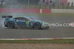 Aston #99 getting it wrong at Becketts