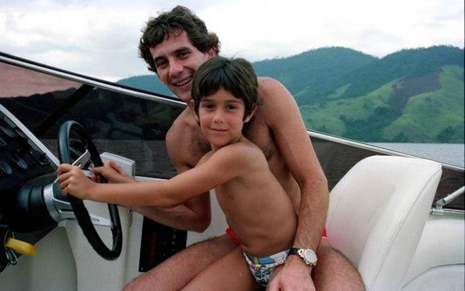 Ayrton Senna e Bruno Senna
