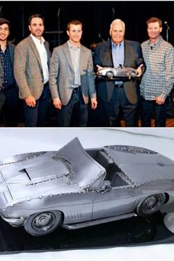 Corvette for Rick Hendrick