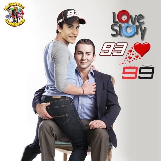 Brincadeiras pós-briga Rossi/Marquez