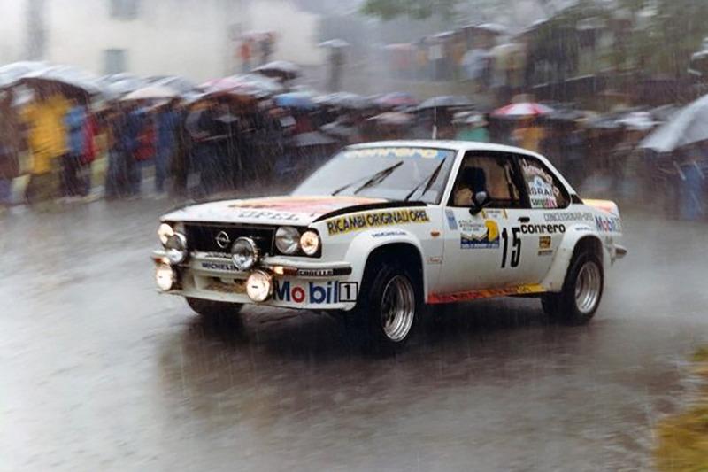 "Мики Биазон и ""Руди"", Ралли Internazionale della Lana 1982 года, Opel Ascona 400"
