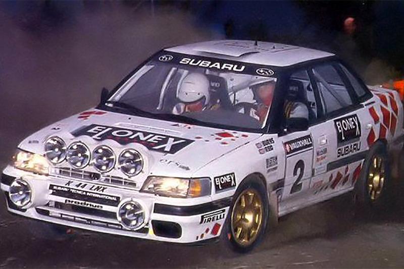 Ричард Бёрнс и Роберт Рид, Ралли Wales 1993 года, Subaru Legacy RS