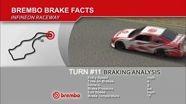 NASCAR Brembo Brake Facts - Infineon Raceway - Sonoma