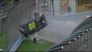 Ragan and Reutimann Crash Replay - Watkins Glen International 2011