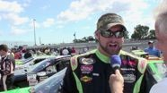 2010 ARCA Kansas - Sheltra Interview