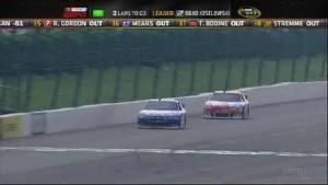 Keselowski Comes Back At Pocono! - Pocono Raceway 2011