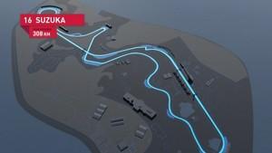 Formula 1 2010 - Track Simulation Suzuka - Mark Webber